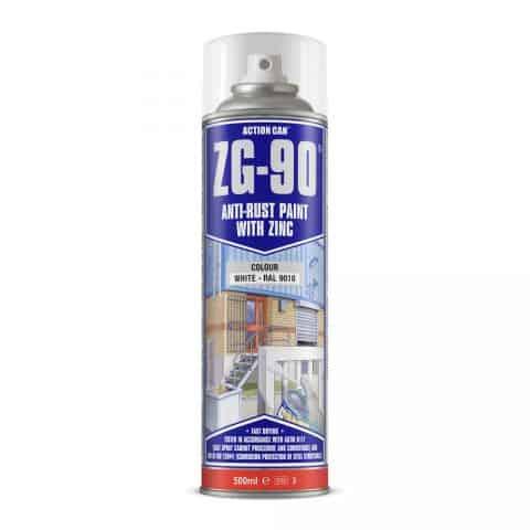 ZG-90-500ml-White anti rust pain with zink